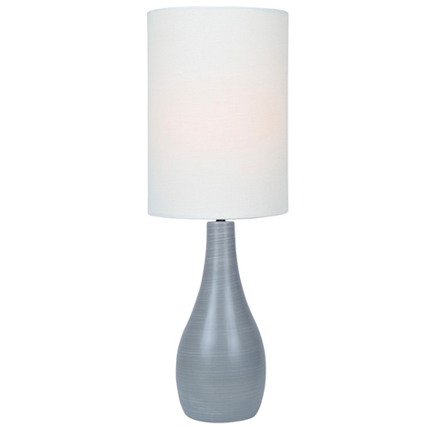 Grenadier Table Lamp GREY/WHITE - Apt2B