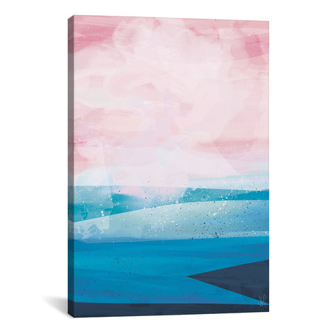 Pink Blue Sea by Dan Hobday