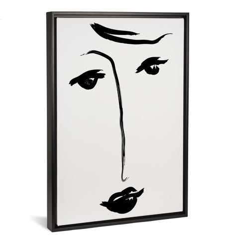 Why The Long Face By Honeymoon Hotel FRAMED CANVAS