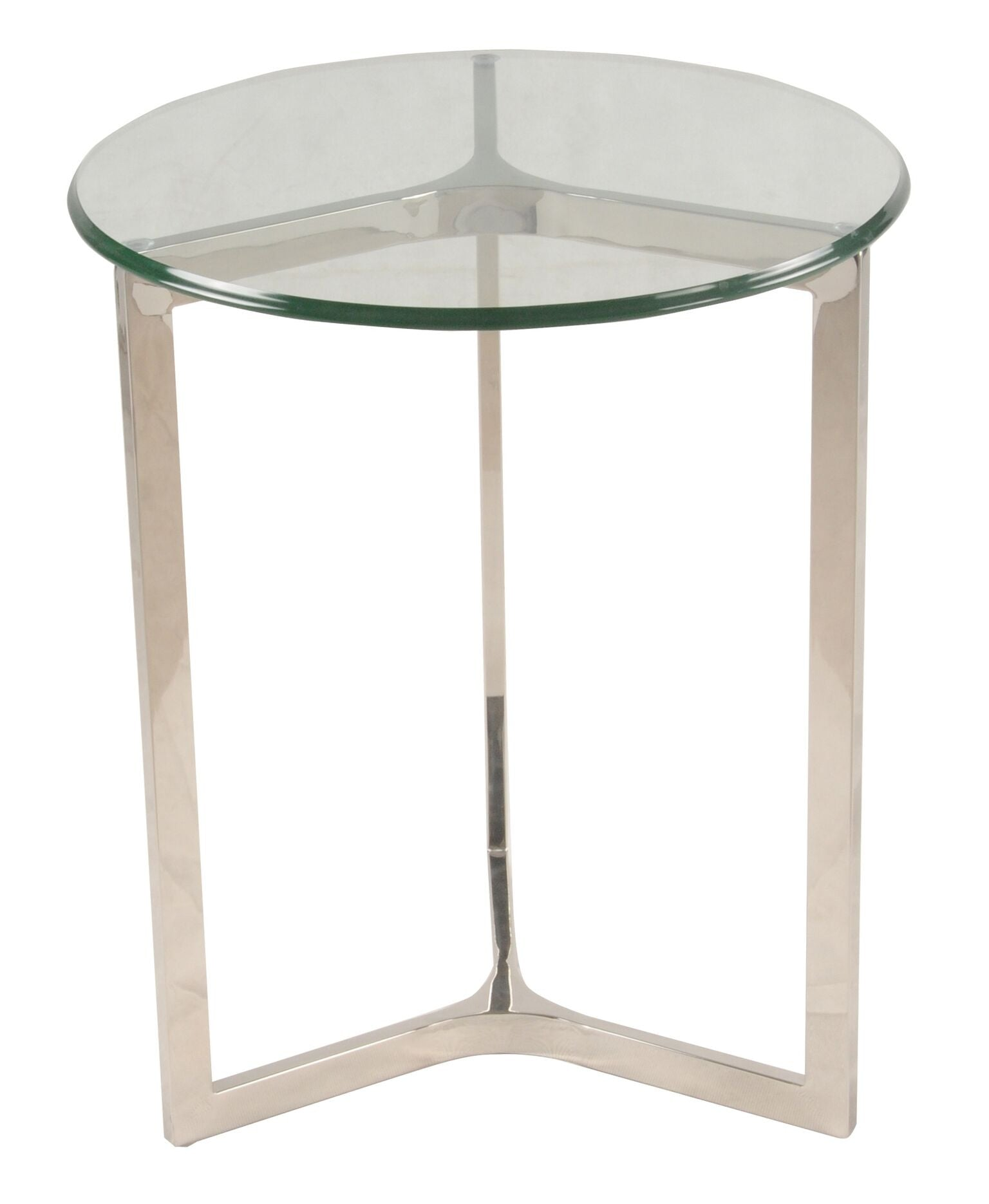 San Clemente Side Table STAINLESS STEEL