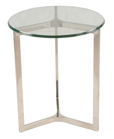 San Clemente Side Table STAINLESS STEEL - Apt2B - 1