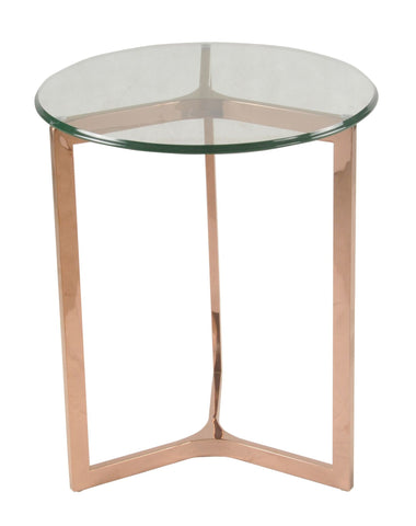 San Clemente Side Table ROSE GOLD - Apt2B - 1