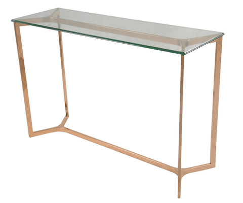 San Clemente Console Table ROSE GOLD - Apt2B - 1