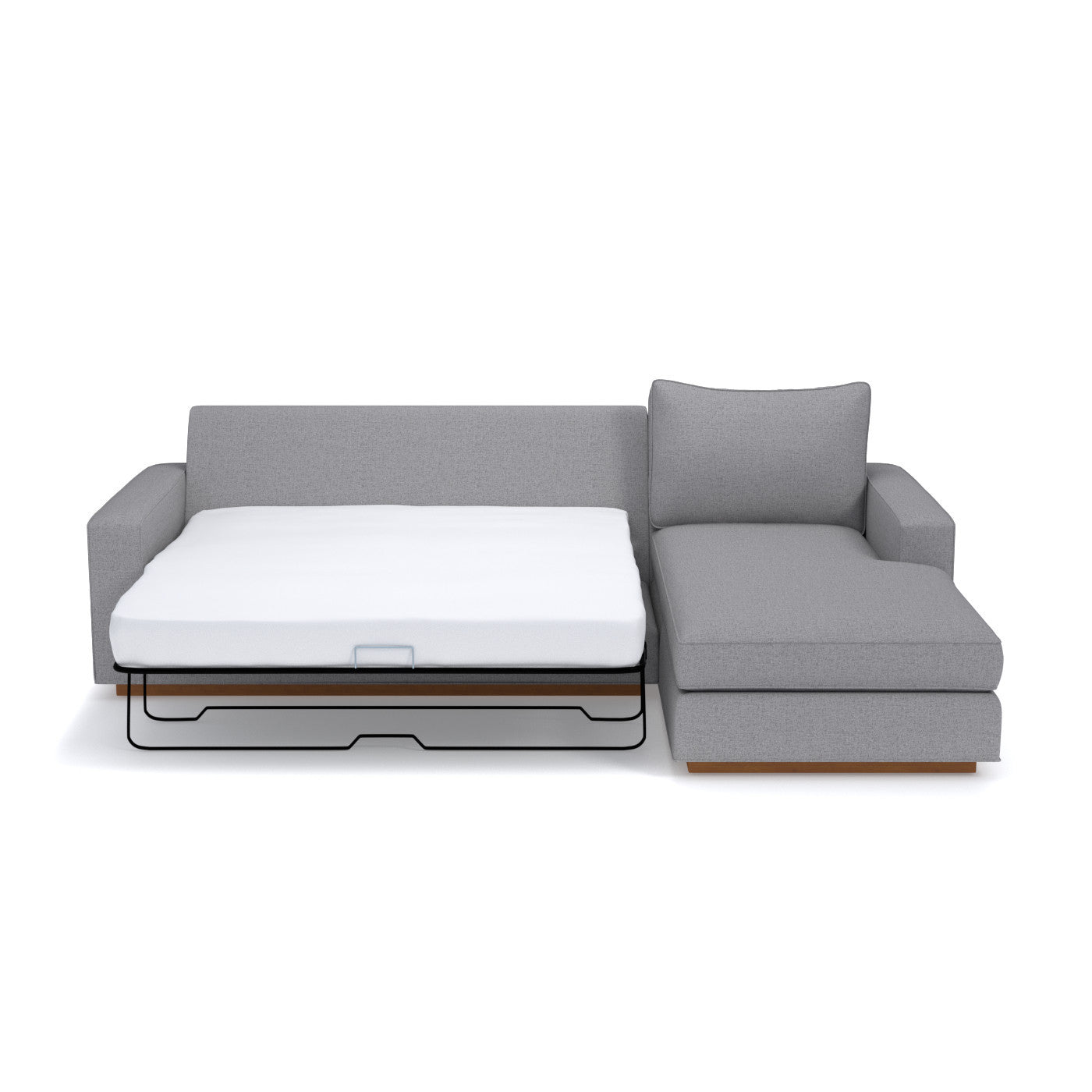 Harper 2pc Sectional Sleeper Sofa CHOICE OF FABRICS – Apt2B