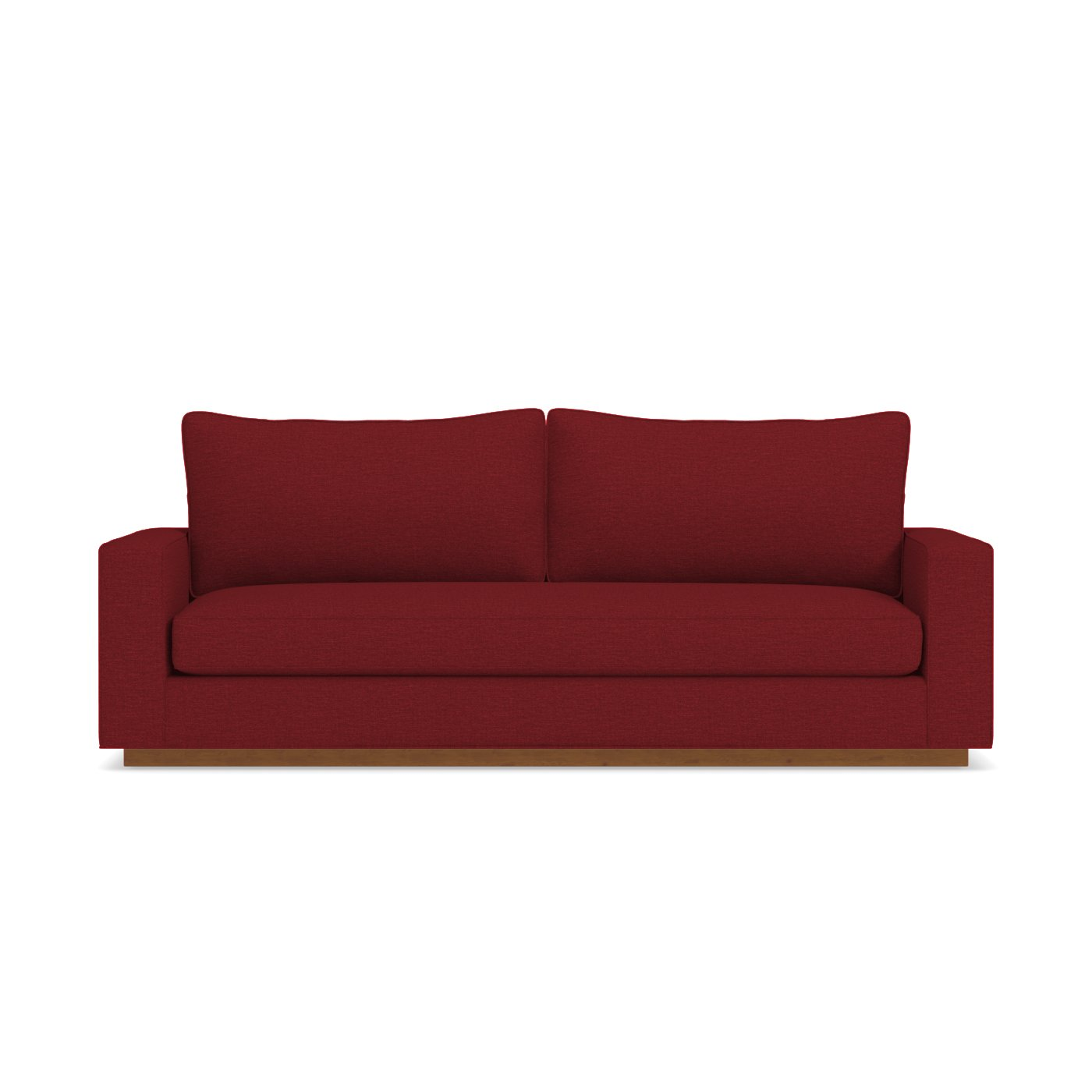 Harper Natural Wood Sofa Choice of Fabrics Apt2B