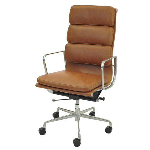 Hollman High Back Office Chair TAWNY