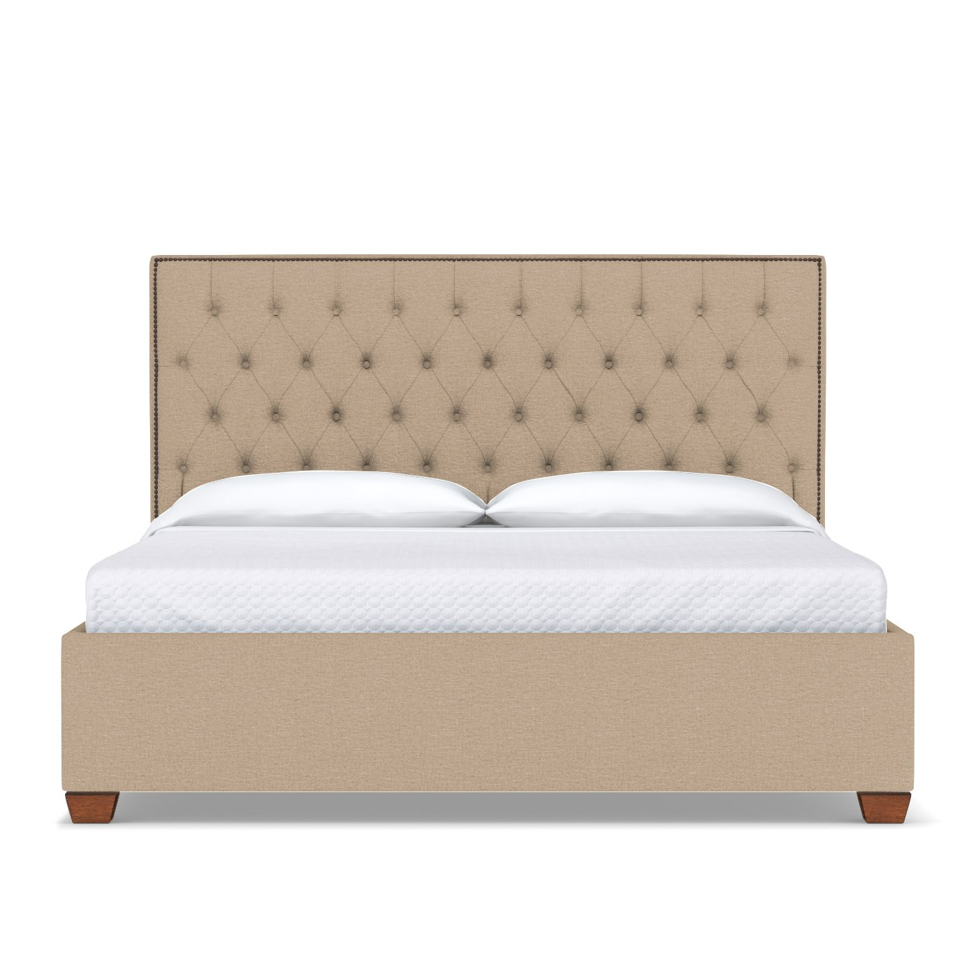 Huntley Drive Upholstered Bed - Choice of Fabrics - Apt2B