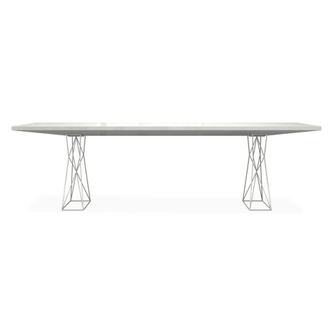 Kraven Dining Table WHITE