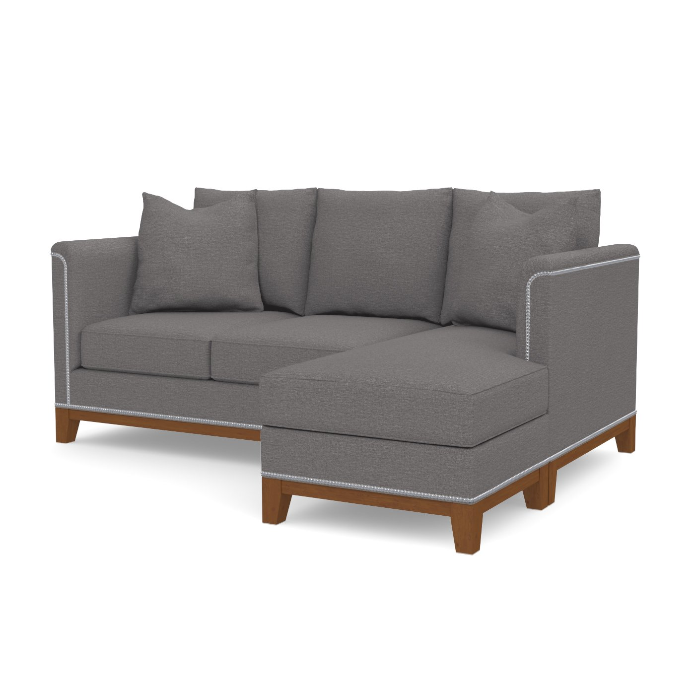 La Brea Reversible Chaise Sofa Choice of Fabrics Apt2B