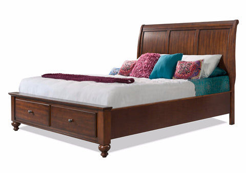 Liberty Storage Platform Bed CHERRY - Apt2B