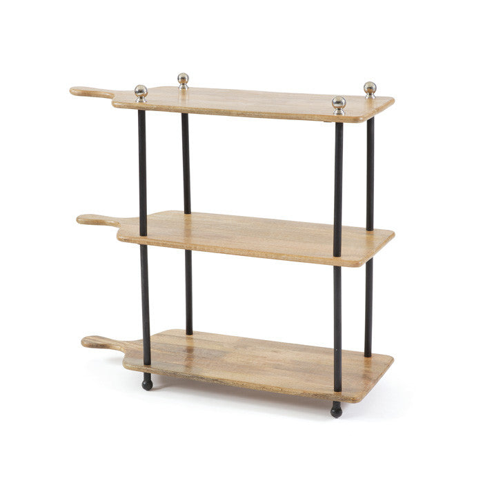 Little Italy Kitchen Stand IRON/WOOD