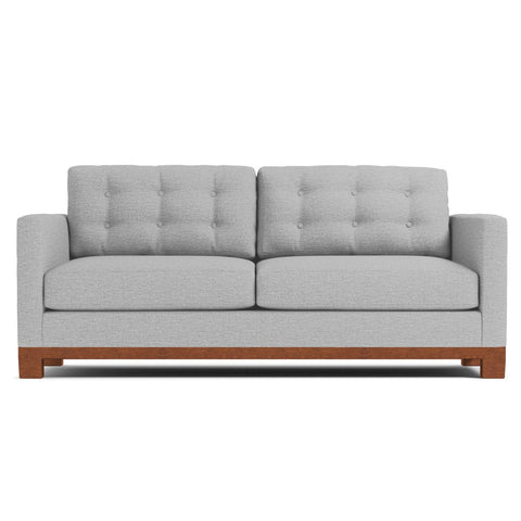 Logan Drive Queen Size Sleeper Sofa in SILVER - CLEARANCE