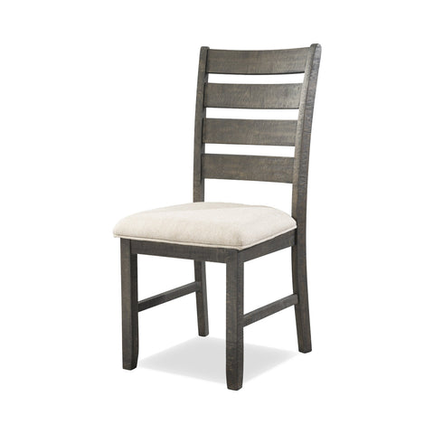 Lynd Dining Chair Set of 2 CREAM/DARK ASH - Apt2B - 1