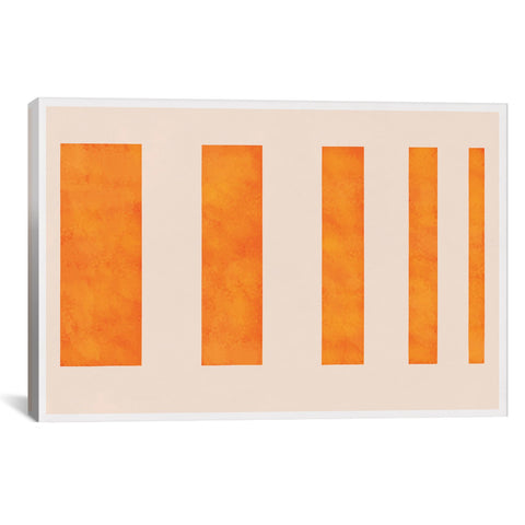 5by5collective MODERN ART - ORANGE LEVIES