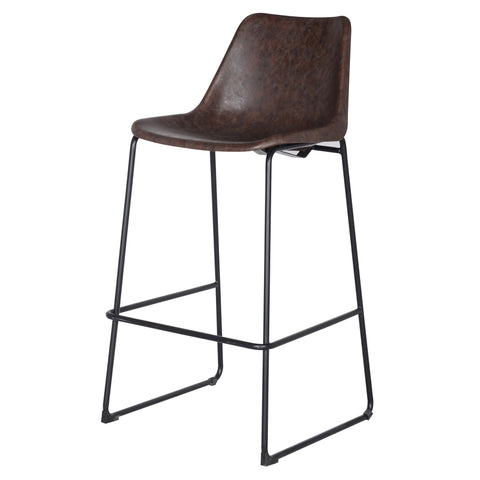 Maverick Bar Stool - VINTAGE COFFEE