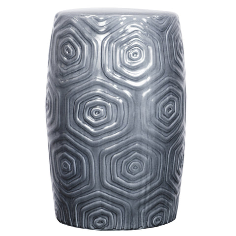 Maisy Ceramic Garden Stool GREY