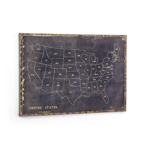 Map of the States Canvas - Apt2B - 1