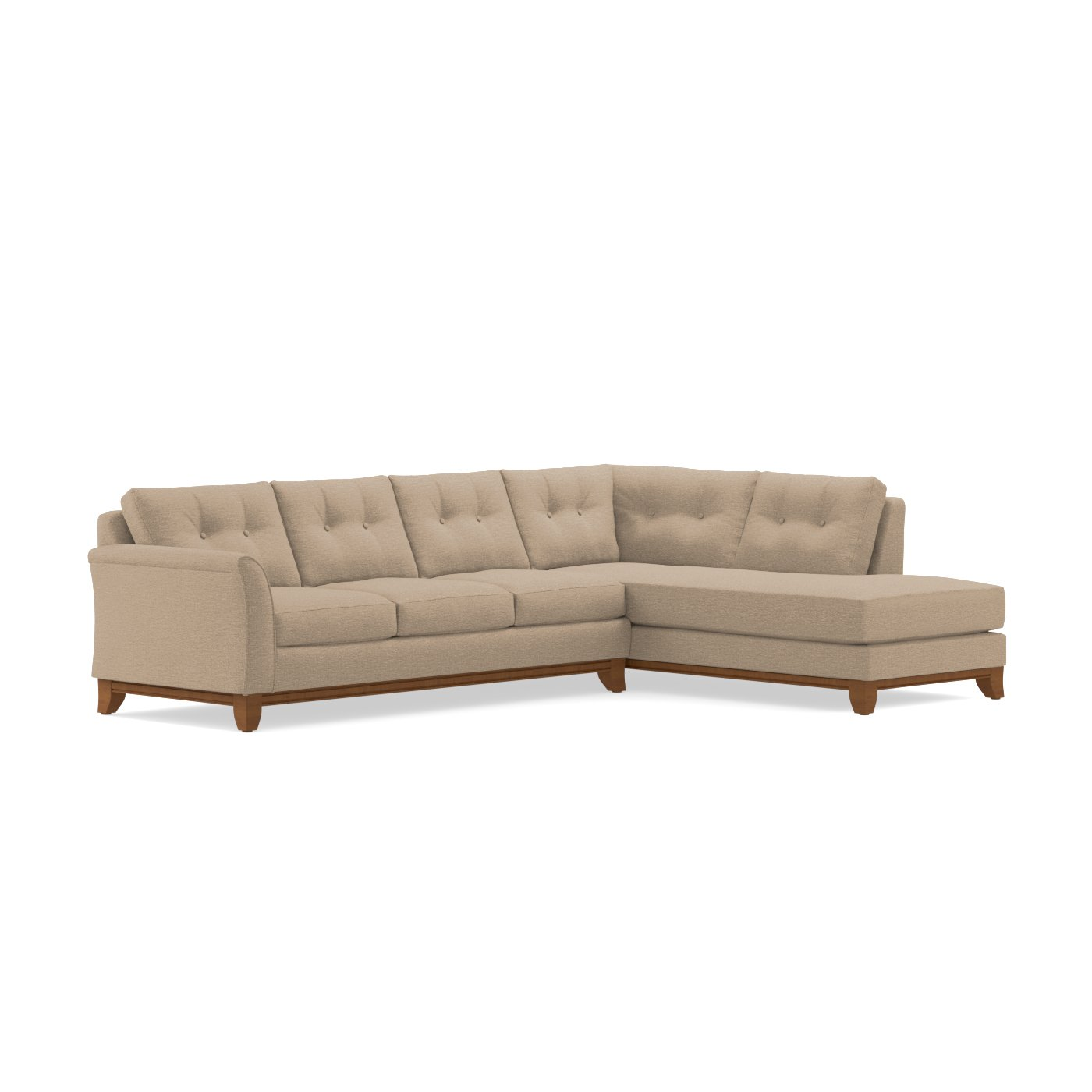 Marco 2pc Sectional Sofa Choice of Fabrics Apt2B