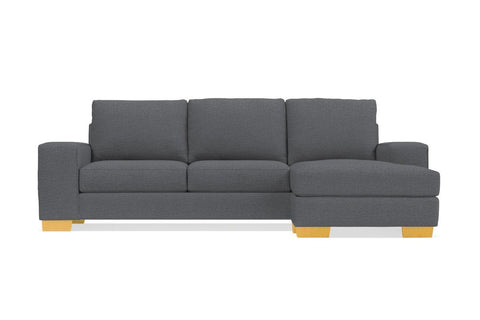Melrose Reversible Chaise Sofa in RHINO - CLEARANCE