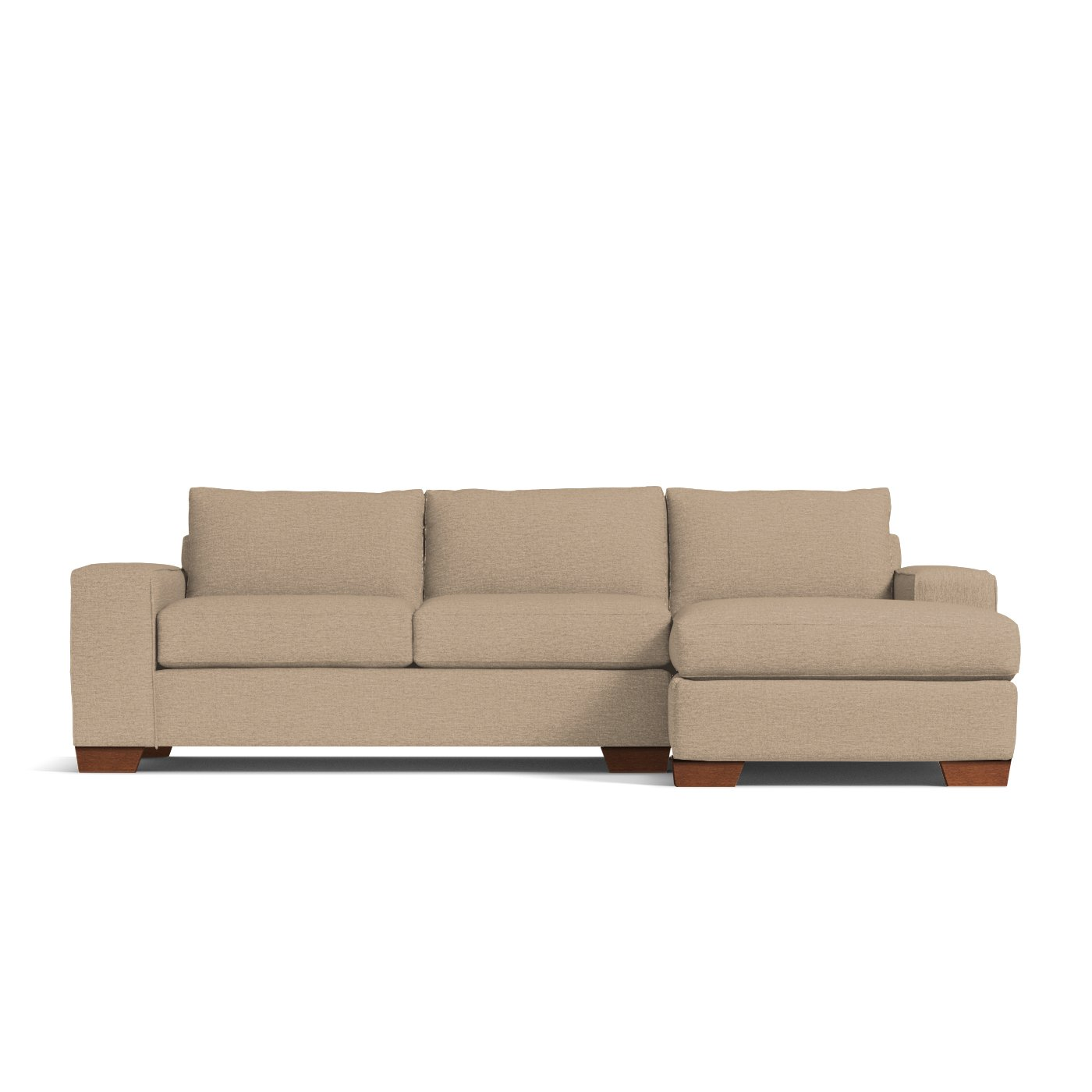 Melrose 2pc Sectional Sofa Choice of Fabrics Apt2B
