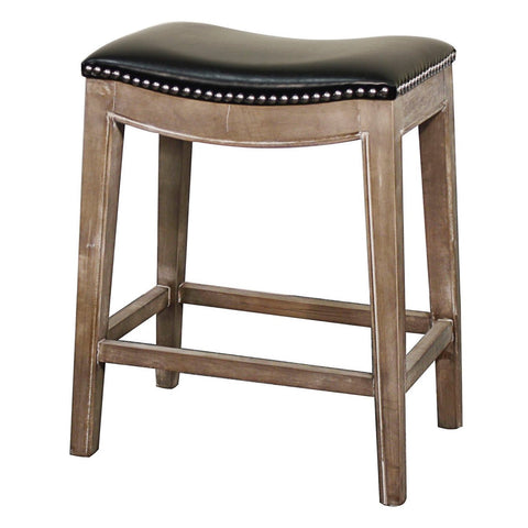 Mesa Counter Stool RUSTIC GREY/BLACK