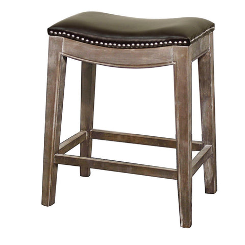 Mesa Counter Stool RUSTIC GREY/ BROWN