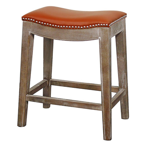 Mesa Counter Stool RUSTIC GREY/PUMPKIN