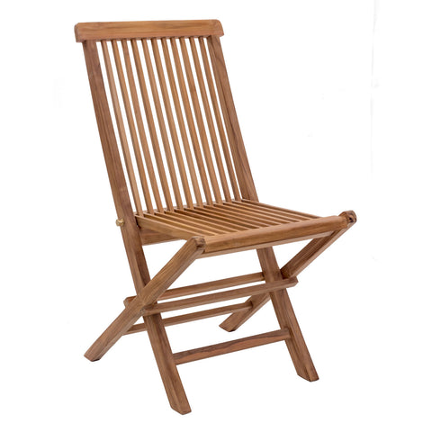 Misty Isle Outdoor Folding Side Chair - Set of 2