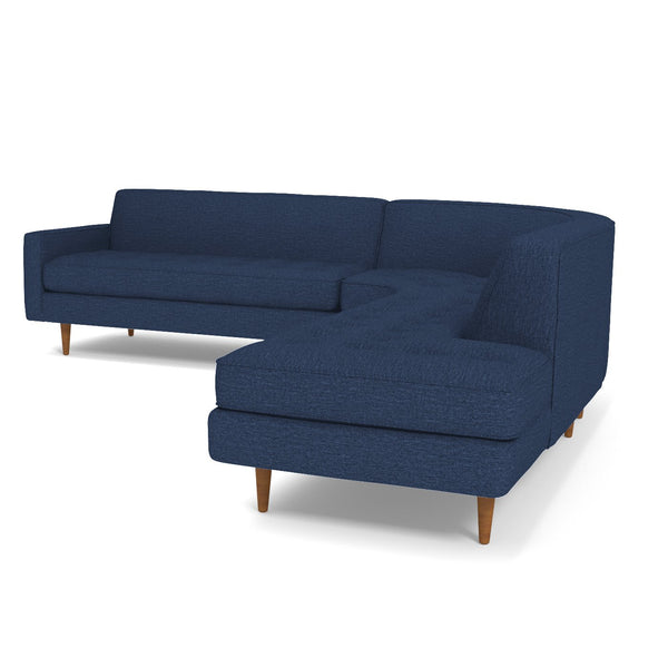 Monroe 3pc Sectional Sofa