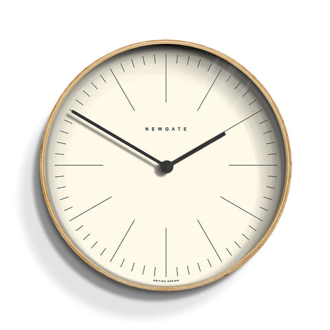 Mr. Clarke Wall Clock by Newgate NATURAL
