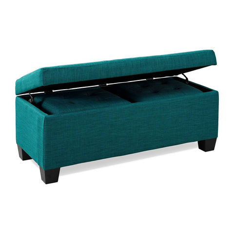 Myra 3pc Storage Ottoman Set
