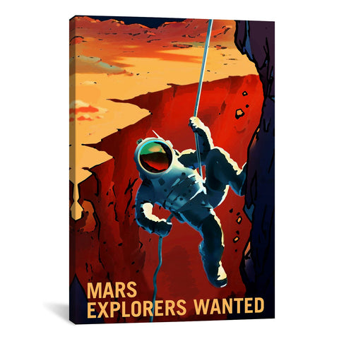 NASA MARS EXPLORER SERIES: EXPLORERS WANTED - Apt2B - 1