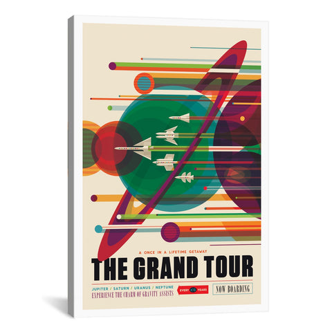 NASA VISIONS OF THE FUTURE SERIES: THE GRAND TOUR - Apt2B - 1