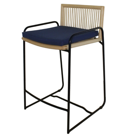Ocean Ave Rattan Counter Stool