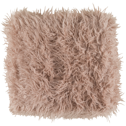Ophelia Shag Throw BLUSH