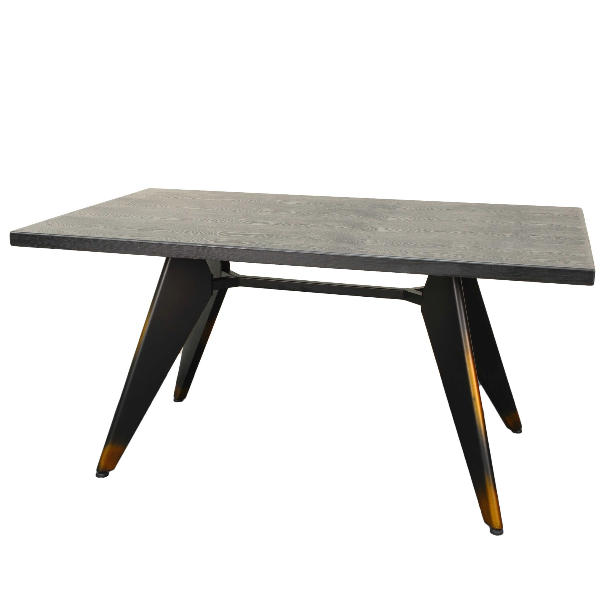 Oxford Metal Dining Table DISTRESSED COPPER – Apt2B