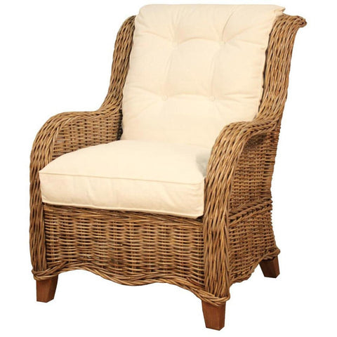 Cozumel Rattan Arm Chair VANILLA
