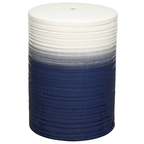 Potter Ceramic Garden Stool BLUE