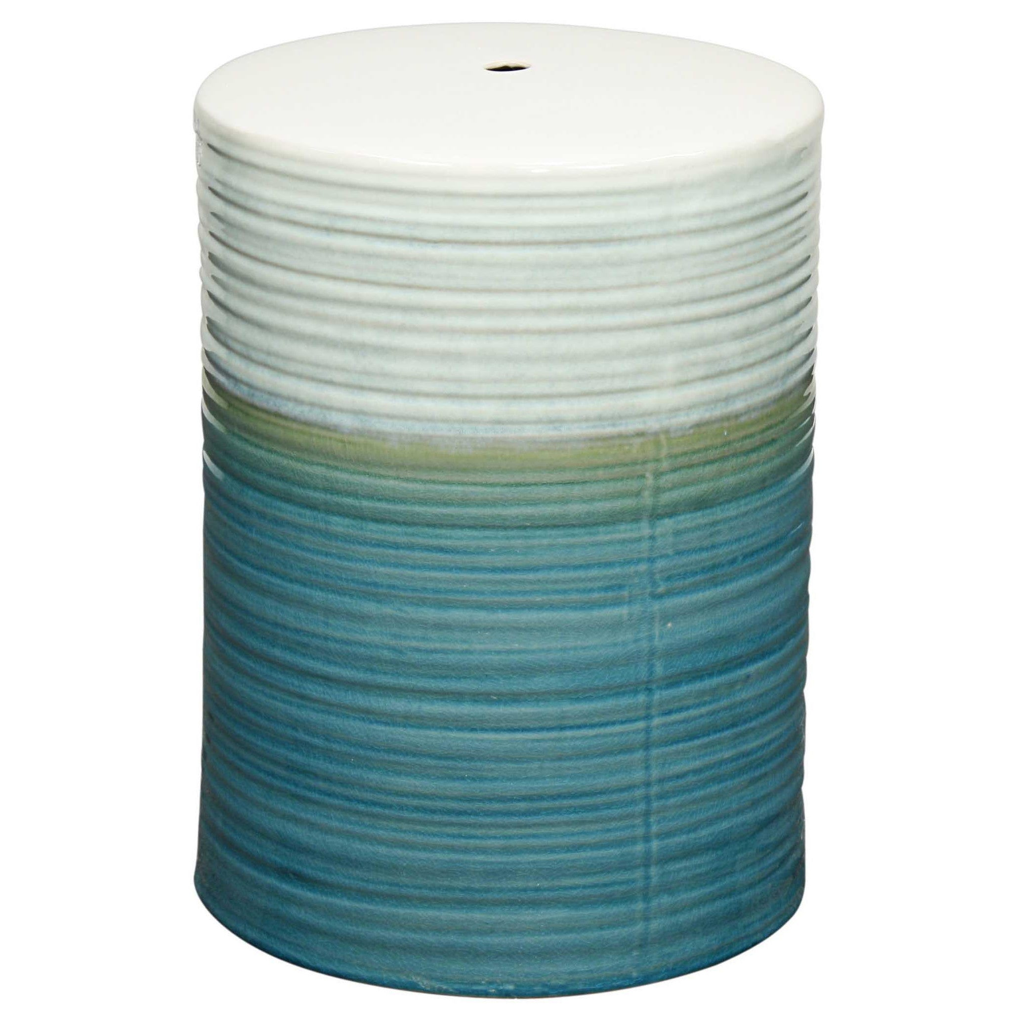 Potter Ceramic Garden Stool TURQUOISE. Will It Fit?