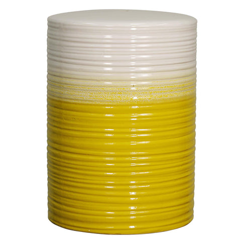 Potter Ceramic Garden Stool YELLOW
