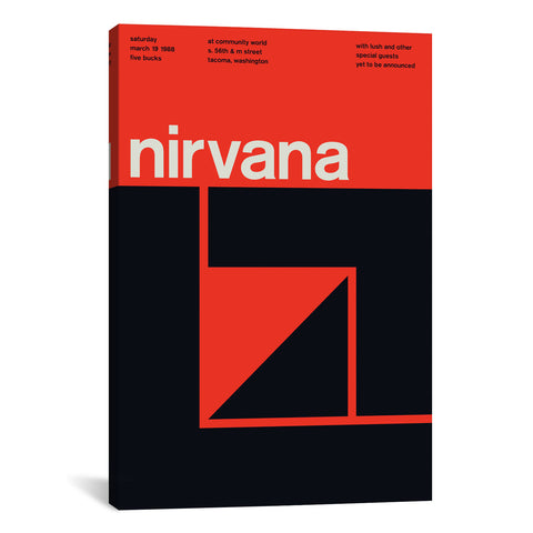 Swissted NIRVANA AT COMMUNITY WORLD: March 19th, 1988 - Apt2B - 1