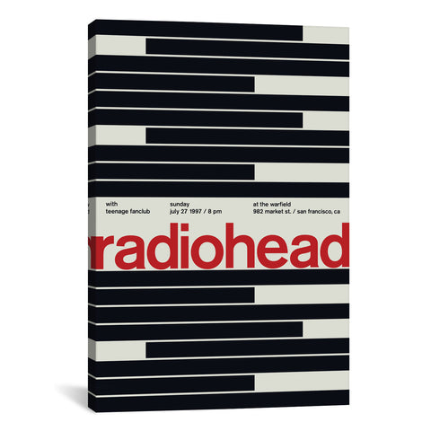 Swissted RADIOHEAD AT THE WARFIELD: July 27th, 1997 - Apt2B - 1
