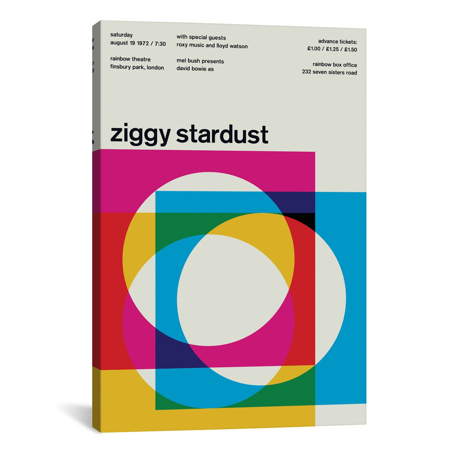 Swissted ZIGGY STARDUST AT RAINBOW THEATRE: August 19th, 1972