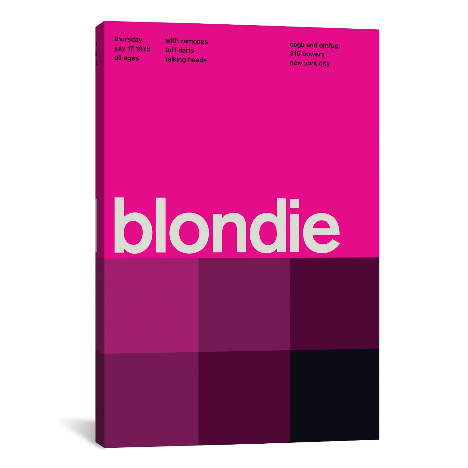 Swissted BLONDIE AT CBGB & OMFUG: July 17th, 1975