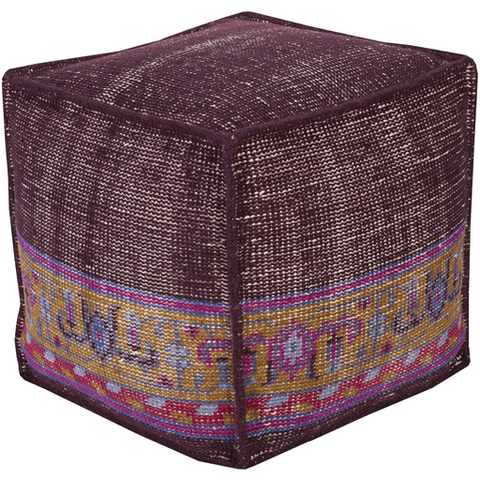 Sahara Pouf DARK PURPLE