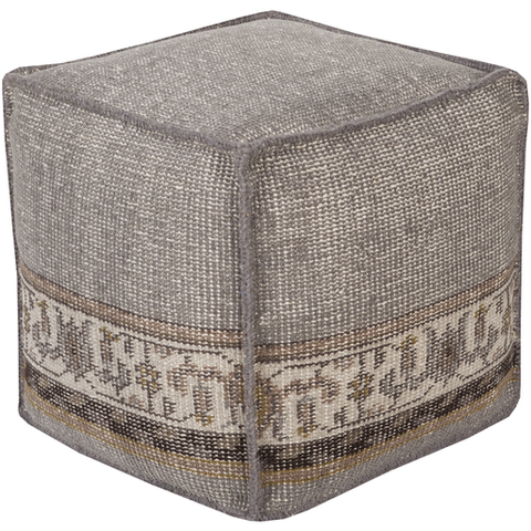 Sahara Pouf MEDIUM GREY