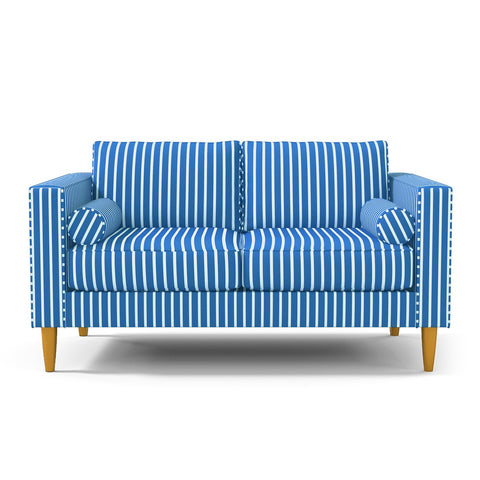 Samson Apartment Size Sofa OCEAN STRIPE