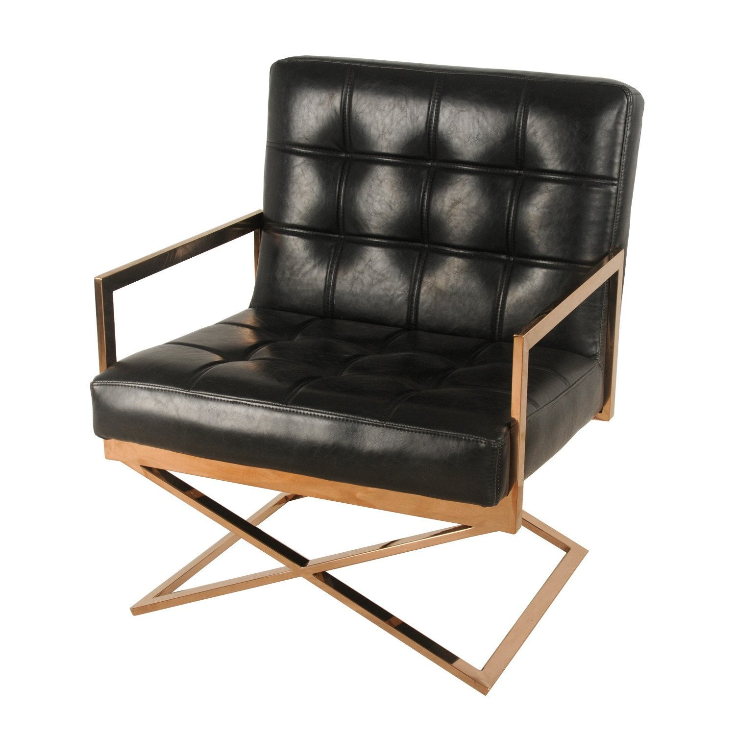Saticoy Accent Chair BLACK/ROSE GOLD. Will It Fit?