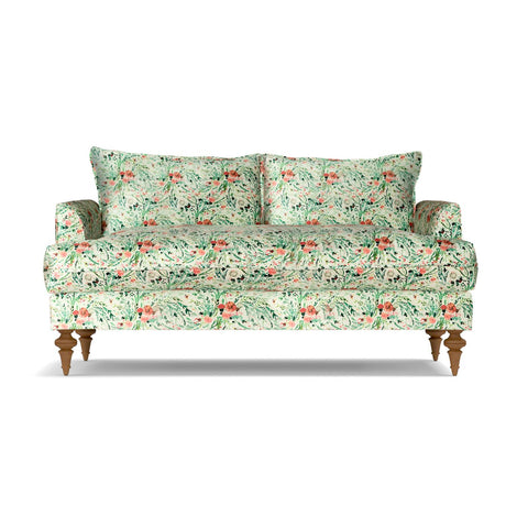Saxon Apartment Size Sofa In BLOOM