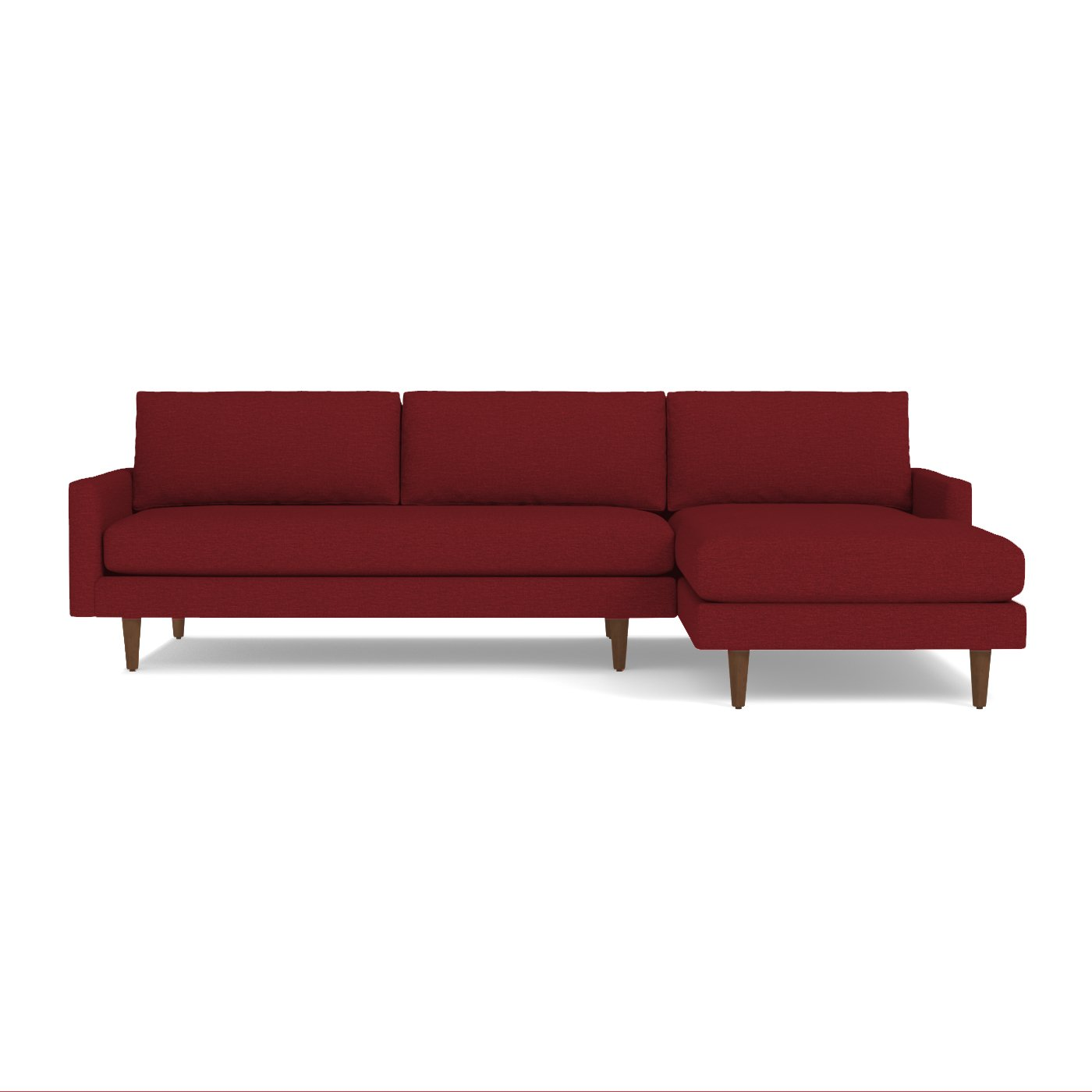 Scott 2pc Sectional Sofa Choice of Fabrics Apt2B